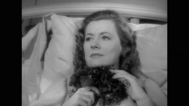 1941 After suffering a miscarriage, woman (Irene Dunne) expresses sadness and apathy to husband (Cary Grant)