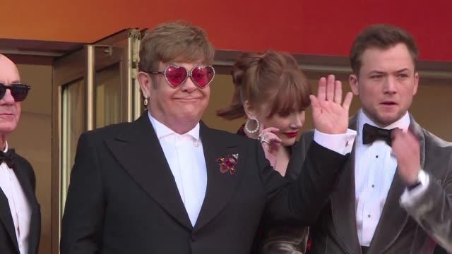 FRA: Cannes: Red carpet arrivals for Elton John biopic Rocketman