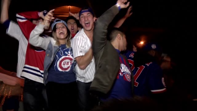 After waiting 108 years Chicago erupts in euphoric celebration following the Cubs historic win of the World Series baseball championship