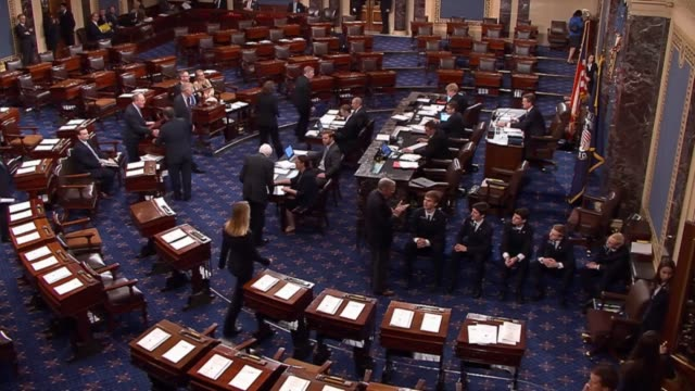 after weeks of consideration on the floor three failed attempts to limit debate 21 amendments the senate passed by a vote of 908 until making... - united states senate stock videos & royalty-free footage