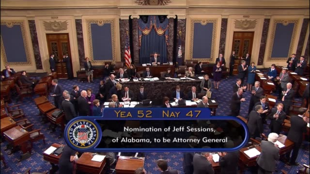 After weeks of debate and around the clock deliberations on the floor the Senate voted 5247 to confirm colleague Senator Jeff Sessions of Alabama as...