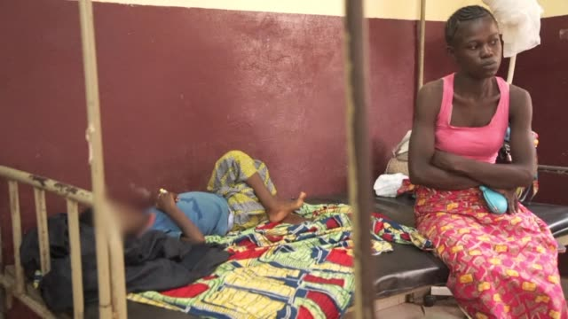 after years of armed conflict in the central african republic there are currently 15 million children or two out of three children who are in... - unicef stock videos & royalty-free footage