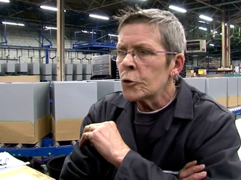 after years of outsourcing abroad some french companies are now changing their minds and bringing their production and jobs back home noyon oise... - outsourcing video stock e b–roll