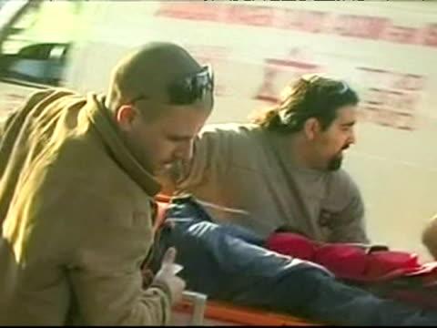 vidéos et rushes de aftermath of a palestinian rocket attack on israeli village of sderot - 50 secondes et plus