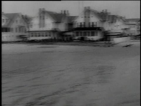 aftermath of rain storm and flooding / new jersey, united states - 1962 bildbanksvideor och videomaterial från bakom kulisserna