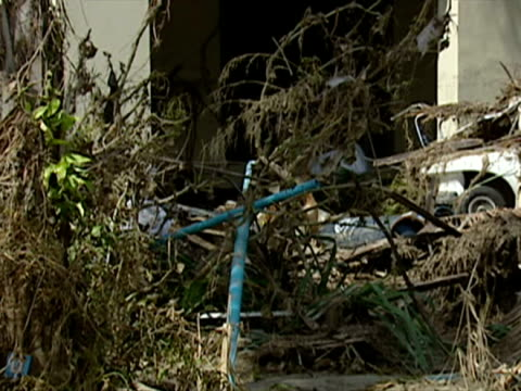 aftermath of thailand tsunami - 2004 stock-videos und b-roll-filmmaterial