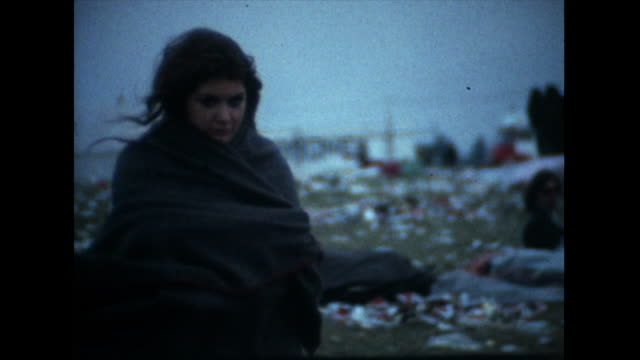 aftermath of the isle of wight festival; 1969 - 1969 stock videos & royalty-free footage