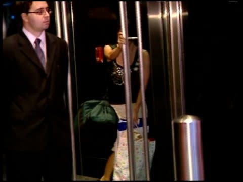 stockvideo's en b-roll-footage met aftermath of the lehman brothers collapse on new york city's workforce and economy on september 15 2008 lehman brothers failed to reach a bailout... - 2008