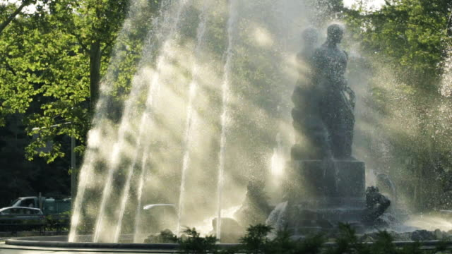 Afternoon Fountain