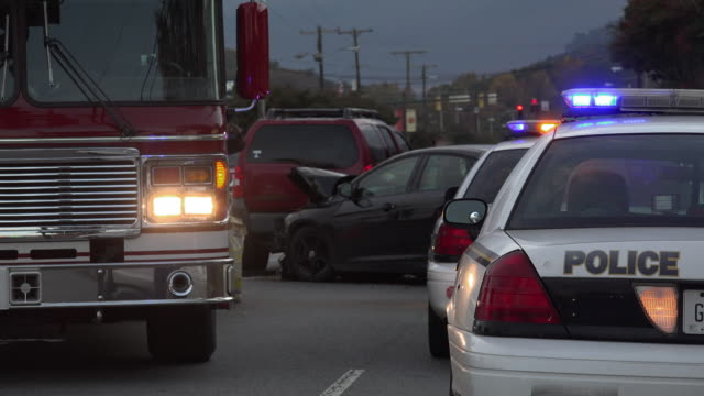 Afternoon Rush Hour Head On Collision Accident