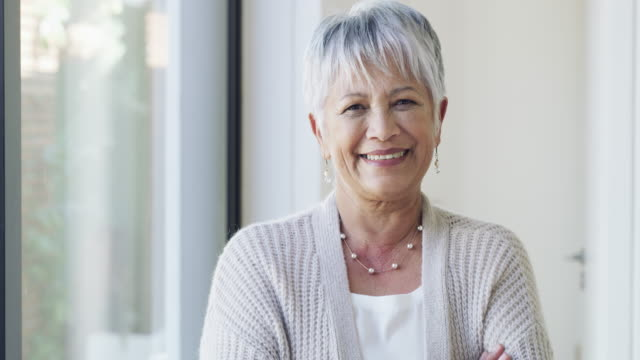 ageing gracefully is all about confidence - mature women stock videos & royalty-free footage