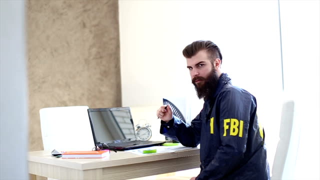 FBI agent in the office