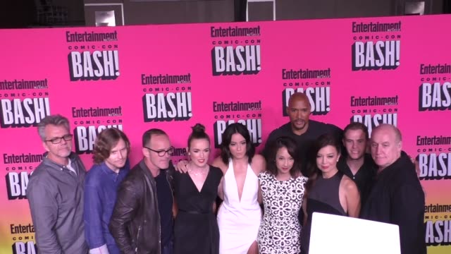 Agents Of Shield Cast at Entertainment Weekly Hosts Annual ComicCon Celebration at Float at Hard Rock Hotel San Diego on July 23 2016 in San Diego...