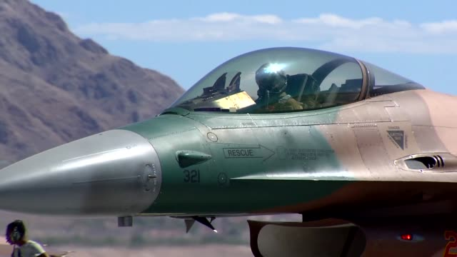 aggressors from the 64th aggressor squadron at nellis air force base nevada - nellis air force base stock videos and b-roll footage