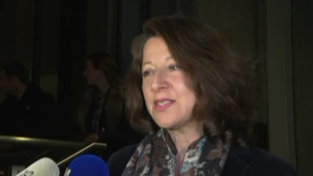 agnes buzyn chosen by the ruling party to run for mayor of paris after benjamin griveaux dropped out of the race announces that she will submit her... - benjamin griveaux stock videos & royalty-free footage