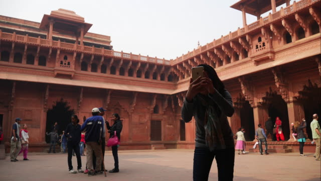 Agra Red Fort - India.