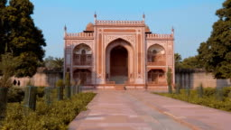 Agra Red Fort is the famous national landmark in Agra, India