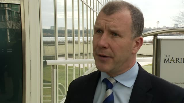 FIFA agree to introduce instant goalline video replay technology WALES Cardiff EXT Stewart Regan interview SOT