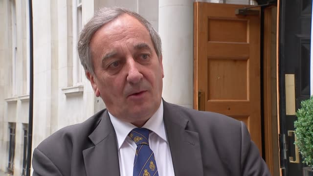NFU warns British farmers are being forced out of business Meurig Raymond interview ENGLAND London EXT Meurig Raymond interview SOT/ Farming...
