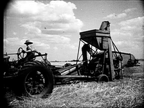 1947 - agricuture in illinois - black and white stock videos & royalty-free footage