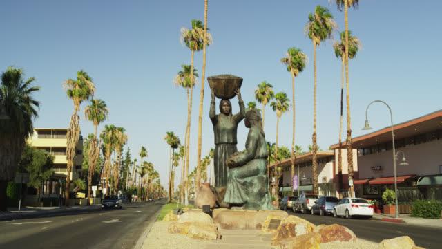 Agua Caliente Indian Statue