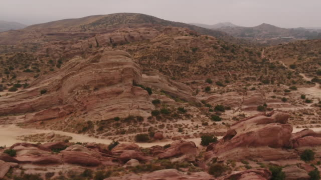 ktla agua dulce california us drone aerials of vasquez rocks natural area park on monday july 8 2019 - vasquez rocks stock videos and b-roll footage
