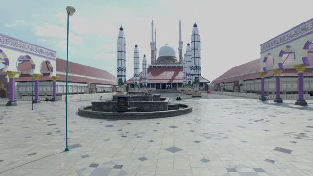 Agung Mosque of Central Java, Semarang.