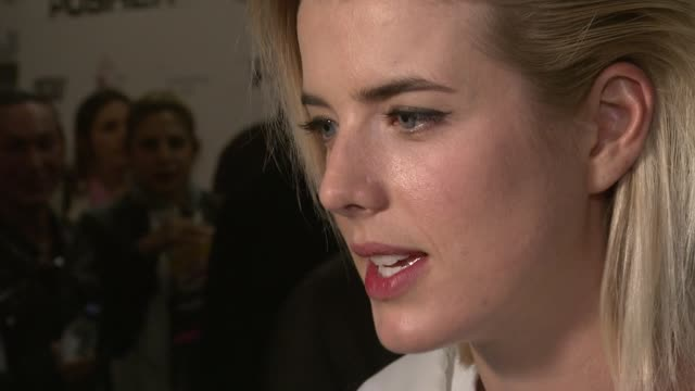 Agyness Deyn at Pusher Gala Screening at Hackney Picturehouse on October 04 2012 in London England