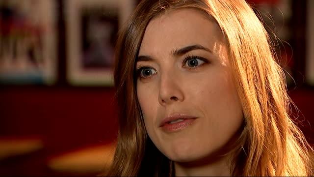 Agyness Deyn lands first major role in British movie 'Electricity' ENGLAND London INT Agyness Deyn interview SOT