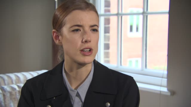 INTERVIEW Agyness Deyn on how she researched her character and epilepsy understanding the condition at 'Electricity' Interviews on December 11 2014...