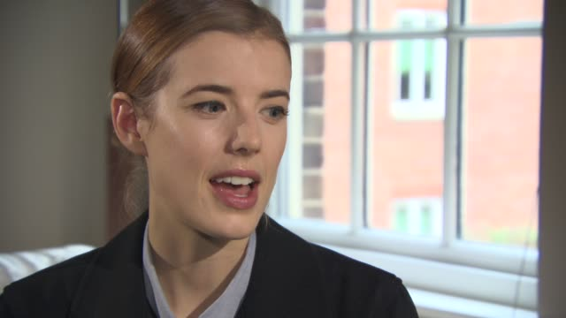 INTERVIEW Agyness Deyn on if she would staying acting in independent films or would she try a big Hollywood film what would attract her to a role if...