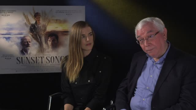 INTERVIEW Agyness Deyn Terence Davies on strong women being strong and loving at the same time a man writing about a strong women at Sunset Song...