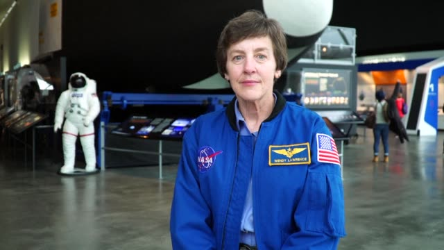 ahead of international women's day afptv is moving a series of portraits of women working in male dominated professions - astronaut stock videos & royalty-free footage