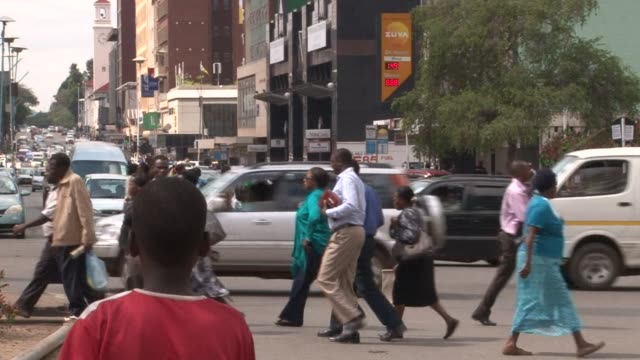 ahead of labour day on may 1 residents of the zimbabwean capital of harare complain of few jobs and having to work in unreliable professions while an... - unemployment stock videos and b-roll footage