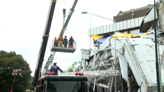 ahead of the 10th anniversary of the christchurch earthquake on 22 february 2011 in new zealand, file images show the aftermath and damage from the... - new zealand stock videos & royalty-free footage