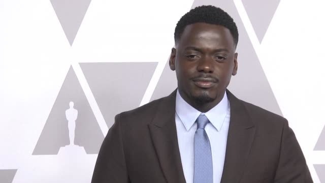 ahead of the 90th academy awards oscars ceremony afptv is sending files of the nominees in major categories - daniel kaluuya stock videos and b-roll footage