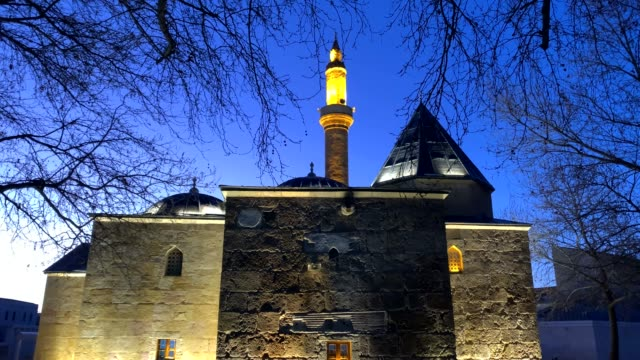 vidéos et rushes de mosquée ahi evran, kirsehir, turquie - dieu