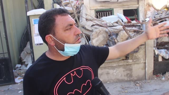 ahmad hajj staifi who fled from the syrian war to lebanon with his family lost two girls and his wife in the explosion on 4th august in beirut one of... - family with four children stock videos & royalty-free footage