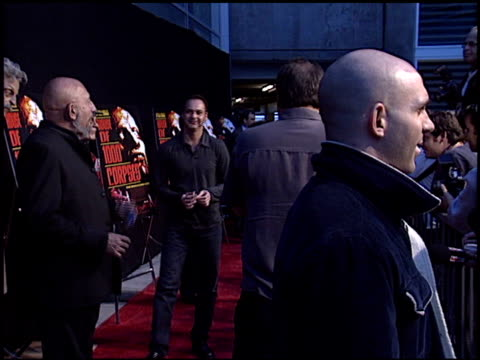 ahmed zappa at the 'house of 1000 corpses' premiere at arclight cinemas in hollywood california on april 9 2003 - house of 1000 corpses stock videos and b-roll footage