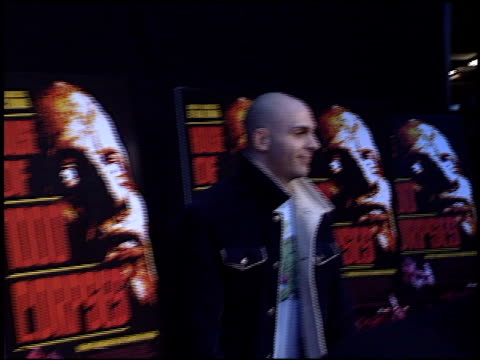 ahmed zappa at the 'house of 1000 corpses' premiere at arclight cinemas in hollywood california on april 9 2003 - arclight cinemas hollywood video stock e b–roll
