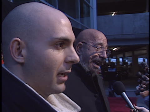 ahmed zappa at the house of 1000 corpses premiere at arclight hollywood in hollywood ca - house of 1000 corpses stock videos and b-roll footage