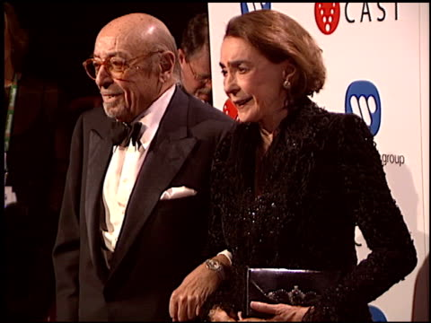 ahmet ertegun at the warner brothers grammy awards party at pacific design center in west hollywood, california on february 13, 2005. - pacific design center stock videos & royalty-free footage
