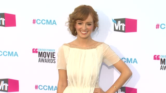 Ahna O'Reilly at 17th Annual Critics' Choice Movie Awards on 1/12/12 in Hollywood CA