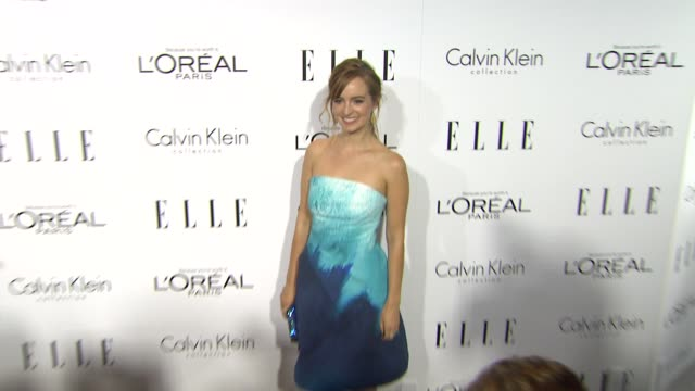 Ahna O'Reilly at 20th Annual ELLE Women In Hollywood in Beverly Hills CA on 10/21/13