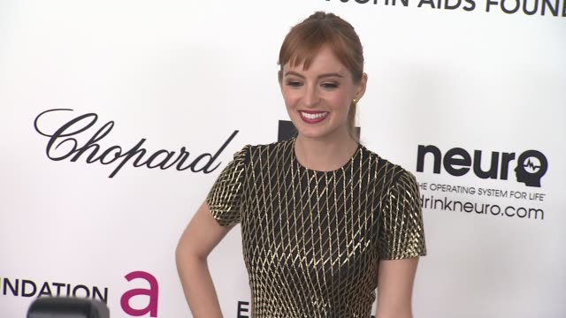 Ahna O'Reilly at Elton John Aids Foundation Celebrates 20th Annual Academy Awards Viewing Party on 2/26/12 in Hollywood CA