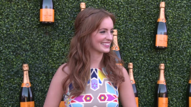 Ahna O'Reilly at Fourth Annual Veuve Clicquot Polo Classic Los Angeles Benefiting Will Rogers State Historic Park on 10/5/2013 in Pacific Palisades CA