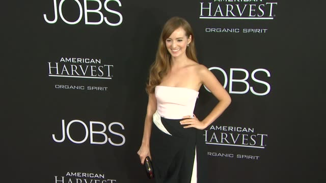 Ahna O'Reilly at JOBS Los Angeles Premiere on 8/13/13 in Los Angeles CA