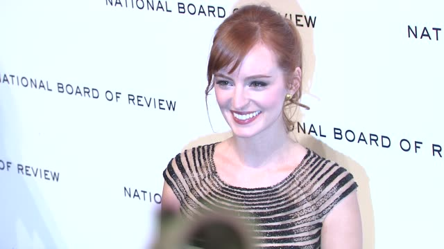 Ahna O'Reilly at National Board of Review Awards Gala Red Carpet at Cipriani 42nd Street on 1/10/2012 in New York City NY