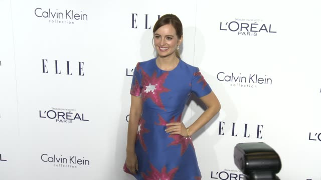 Ahna O'Reilly at the 2015 ELLE Women in Hollywood Awards at Four Seasons Hotel Los Angeles at Beverly Hills on October 19 2015 in Los Angeles...