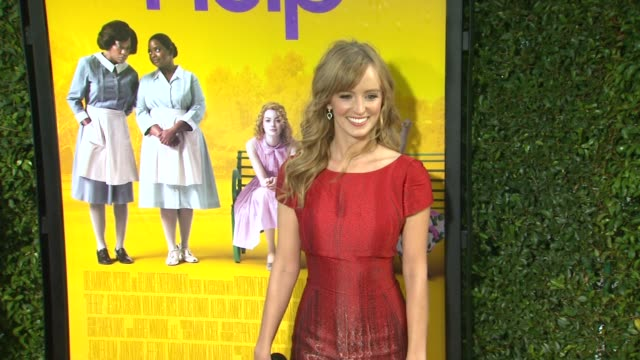 Ahna O'Reilly at the 'The Help' Los Angeles Premiere at Beverly Hills CA